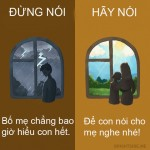 9 câu nói vô tình khiến bố mẹ bị tổn thương