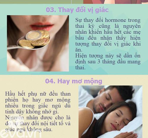10 dau hieu co thai som nhat phu nu thuong bo qua - 3