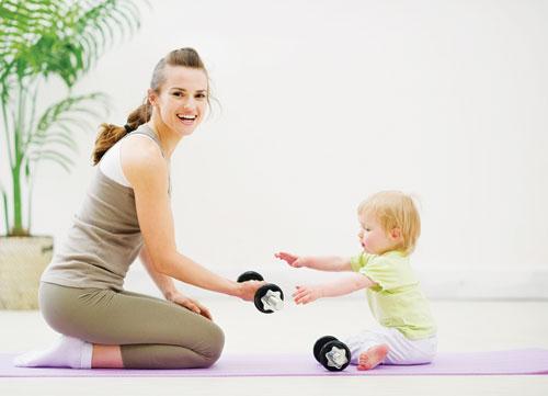 5 sự thật phũ phàng về giảm cân sau sinh
