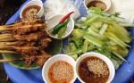 Bánh ít thịt nướng món best seller ở phố Hội