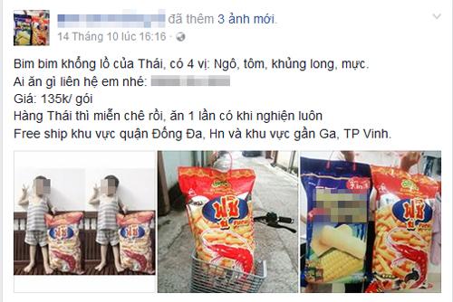 Giới trẻ Việt phát cuồng với bim bim khổng lồ to bằng nửa người lớn