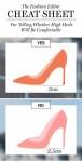 Mách chị em mẹo mua giày cao gót qua mạng một phát thích ngay