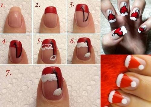 7 mẫu nail đẹp lung linh không thử trong tiệc giáng sinh chào năm mới sẽ thật đáng tiếc