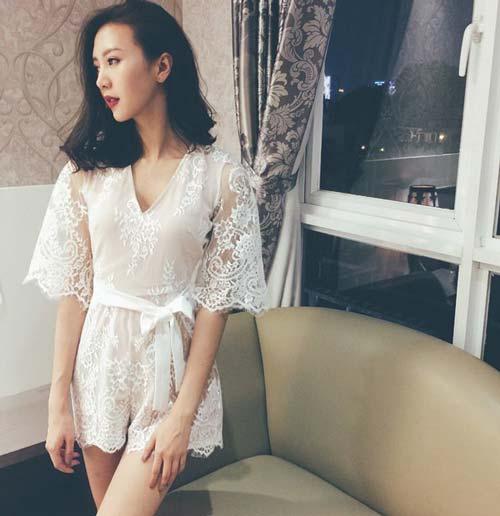 chi la tiep vien hang khong thoi ma, co can phai xinh the nay khong? - 11
