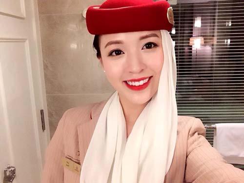 chi la tiep vien hang khong thoi ma, co can phai xinh the nay khong? - 7