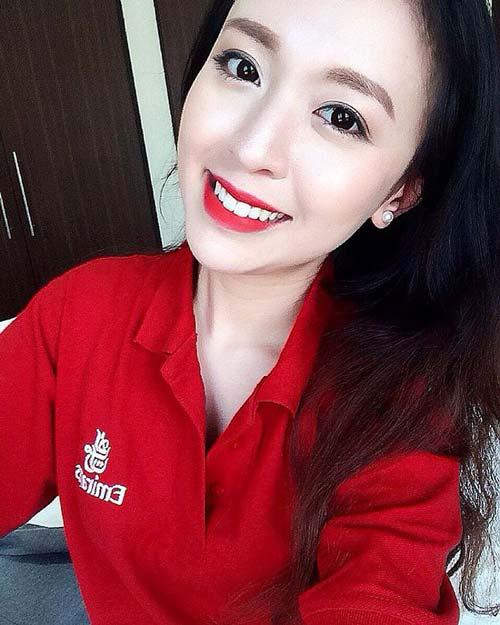 chi la tiep vien hang khong thoi ma, co can phai xinh the nay khong? - 8