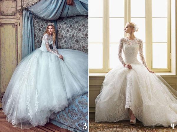 Loạt váy cưới siêu đẹp được yêu thích nhất năm 2016