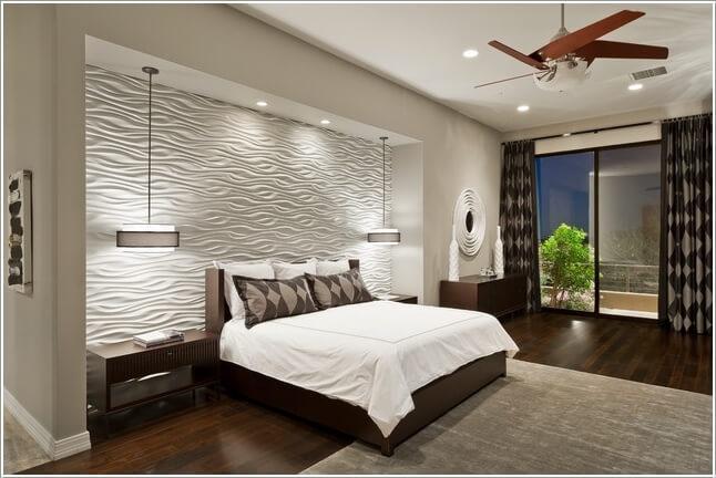 Làm mới phòng ngủ bằng cách trang trí đầu giường