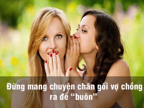 """5 dieu ve chong, cam tiet vo mang ra """"buon chuyen"""" - 1"""