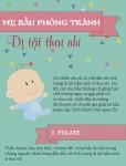 Cách phòng tránh dị tật thai nhi:  4 việc mẹ bầu nào cũng có thể làm