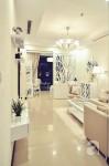 Trang trí kiểu tân cổ điển, căn hộ 93m² của vợ chồng trẻ đơn giản mà vẫn đẹp hút hồn