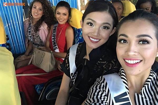 Lệ Hằng tự tin trình diễn thời trang tại Miss Universe 2016