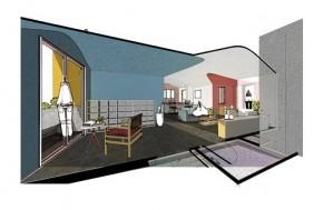 Biến căn hộ 2 phòng ngủ hư hỏng thành không gian sống ngập màu sắc cho trẻ nhỏ