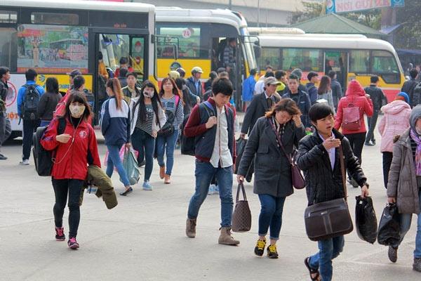 Sát Tết, vé xe khách tăng giá 'sốc' lên tới 60‰