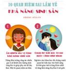 Nếu đang muốn mang thai năm 2017, đừng tin 10 điều này