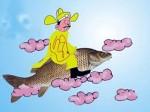 Sự tích ông Công ông Táo: Tại sao Táo Quân cưỡi cá chép lên chầu trời?