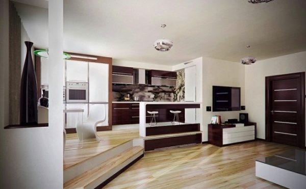 Thiết kế giật cấp tạo điểm nhấn đặc biệt trong kiến trúc nhà nhỏ