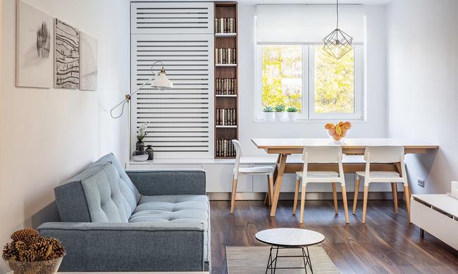 Nếu đang ở chung cư thì đây chính là mẫu phòng khách dành cho nhà bạn đấy