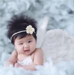 Vân Trang khoe con gái cưng mắt đá lông nheo, tóc dựng ngược siêu hóm hỉnh