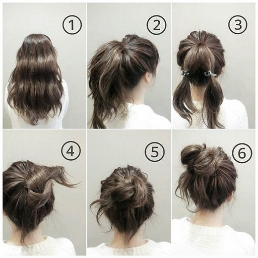 Ba kiểu búi tóc siêu đơn giản, dễ làm giúp các nàng đã xinh lại càng thêm xinh