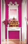 Không gian đẹp mềm mại và duyên dáng nhờ khéo sử dụng sắc hồng đậm