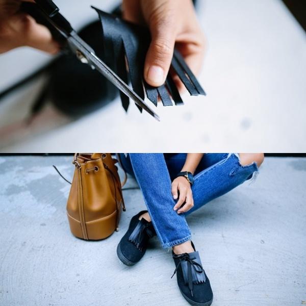 Bỏ túi ngay bí kíp tút tát giày cũ thành mới cực sành điệu chỉ trong tích tắc