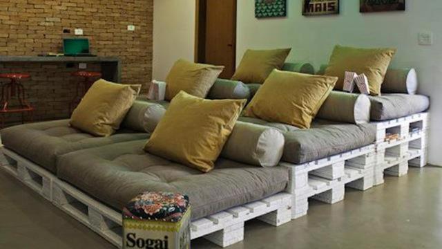 Những ý tưởng thông minh biến gỗ pallet thành đồ nội thất tuyệt đẹp