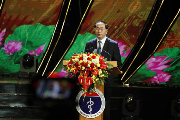 Chủ tịch nước: Đổi mới và hoàn thiện hệ thống Y tế theo hướng công bằng, hiệu quả, phát triển