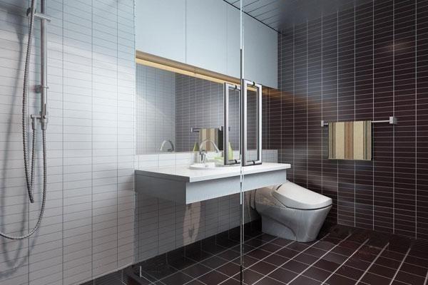 Nguyên tắc về gương và cách cải thiện phong thủy nhà vệ sinh