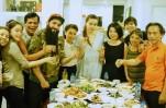 """Hà Hồ mời đạo diễn """"Kong: Skull Island"""" dùng cơm tối thân mật với gia đình"""