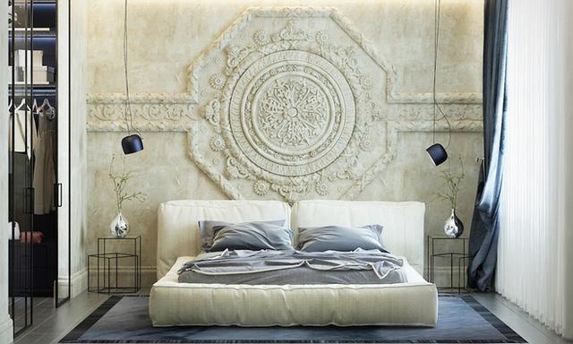 Những phòng ngủ này vẫn sang trọng và đẹp mê hồn dù không có giường