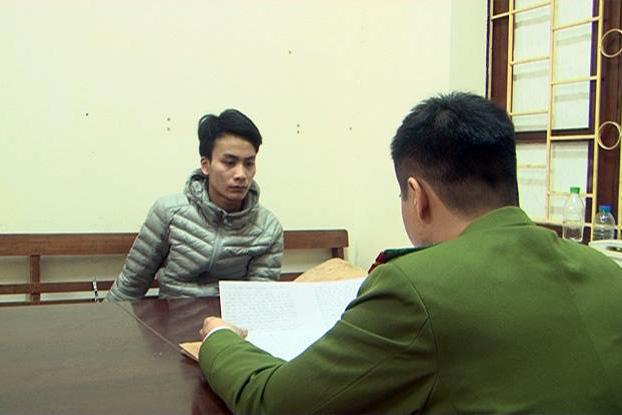 Kẻ buôn bán người Lê Văn Việt tại CQCA. Ảnh: CTV