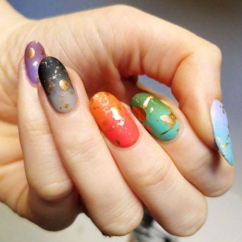 Trở thành người sành điệu nhất với những biến tấu sơn móng tay lì cực hot