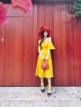 Thu Thảo, Hà Tăng mặc màu nắng để hè thêm rạng rỡ