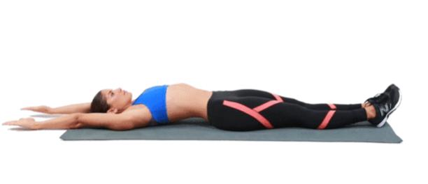 Màu hè, tập bài thể dục này trước khi đi ngủ thân hình chỉ có mà săn chắc, sexy trở lên mà thôi