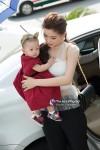 Á hậu Diễm Trang khoe vóc dáng nuột nà bên con gái tại sự kiện