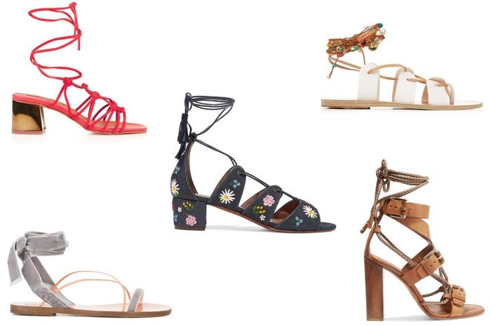 xu hướng giày mùa hè