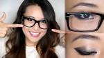 Cách trang điểm khắc phục nhược điểm mắt dại, lồi cho những cô nàng đeo kính
