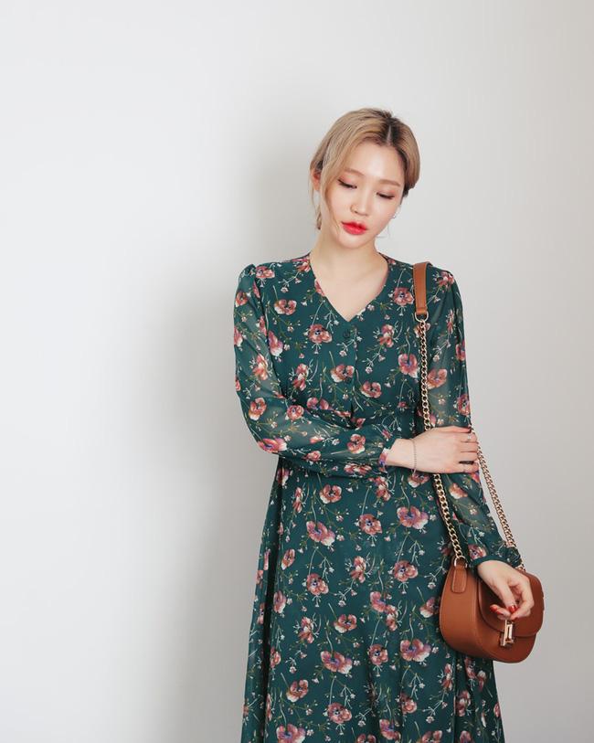 Váy hoa năm nay hot thì ai cũng đã biết, nhưng phải mặc thế nào mới là đúng điệu nhất? - Ảnh 4.