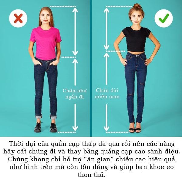 Mặc đồ thế này bảo sao lúc nào bạn cũng bị chê là mập và lùn!