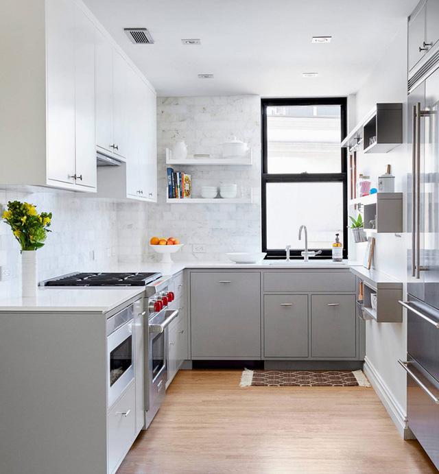 14. Căn bếp cho bạn biết được tầm quan trọng của ánh sáng tự nhiên khi thiết kế.