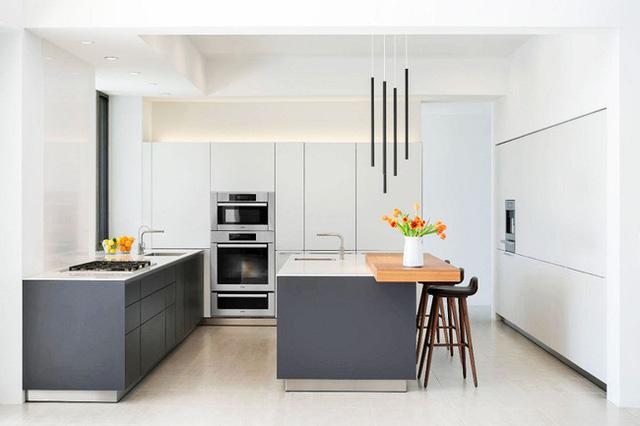3. Sự sắp xếp và những đường nét thiết kế hiện đại của căn phòng gây ấn tượng mạnh với người đối diện.