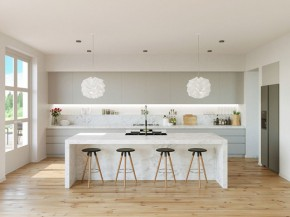 Cứ ngỡ nhàm chán nhưng 22 mẫu thiết kế phòng bếp màu xám này lại đẹp không tưởng