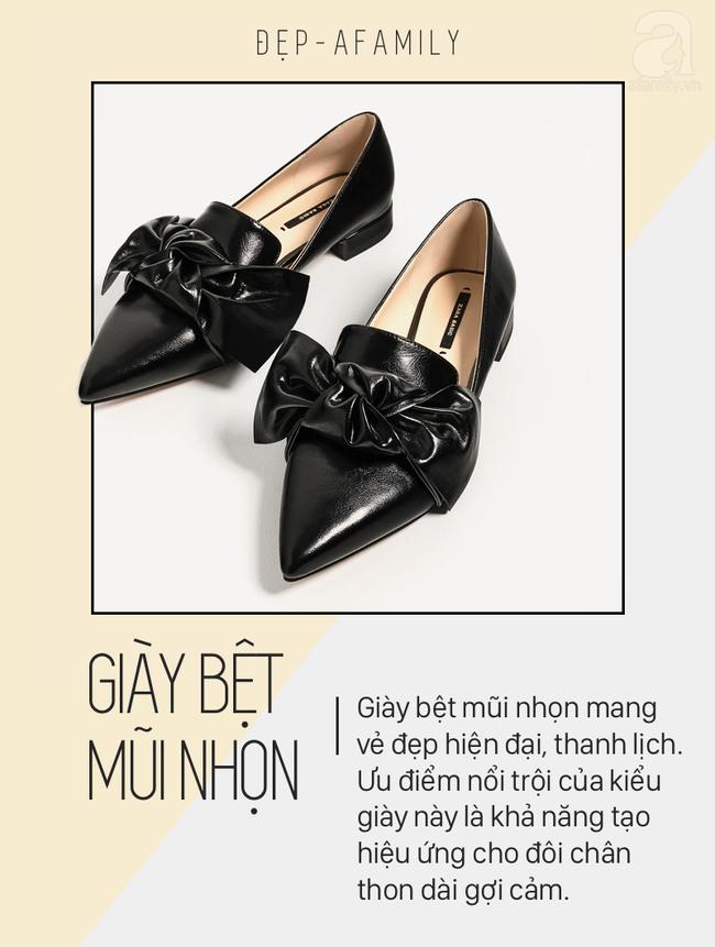 """Điểm danh 11 kiểu giày bệt quen thuộc giúp nàng công sở lựa chọn được thiết kê """"nịnh"""" chân nhất  - Ảnh 4."""