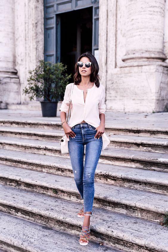 Đến quần jeans dáng sơ bản cũng có kiểu chuẩn xu hướng, kiểu không - Ảnh 7.