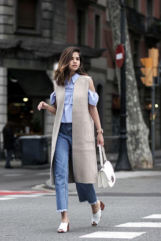 Đến quần jeans dáng sơ bản cũng có kiểu chuẩn xu hướng, kiểu không - Ảnh 11.