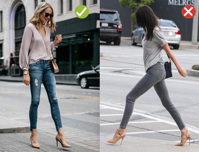 Đến quần jeans dáng sơ bản cũng có kiểu chuẩn xu hướng, kiểu không - Ảnh 12.