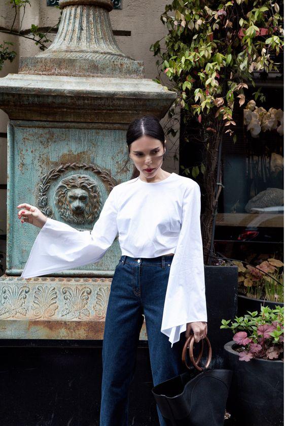Đến quần jeans dáng sơ bản cũng có kiểu chuẩn xu hướng, kiểu không - Ảnh 6.