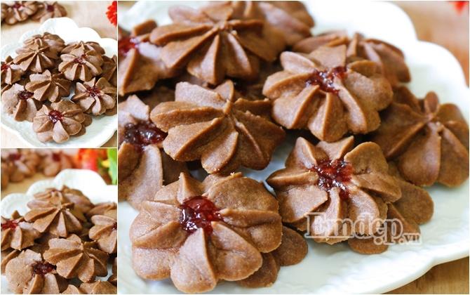 Bánh quy bơ chocolate giòn tan, ngọt ngào