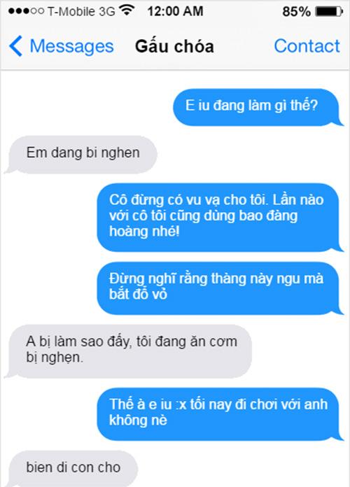 """""""Cười bò"""" với loạt tin nhắn không dấu khiến những đôi yêu nhau """"tan đàn xẻ nghé"""""""